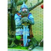 Скульптура Витязь С Мечом фото