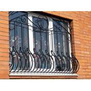 Кованые решетки РК-07 фото