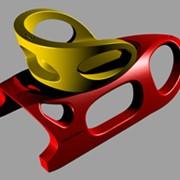 Детские пластиковые санки 2KIDS фото