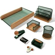 Настольный набор 6 предметов GALANT Wood&Metal