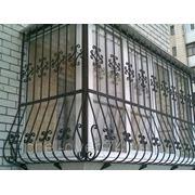 Решетка на балкон фото
