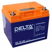 Аккумулятор DELTA GX 12-40 (GEL) фото