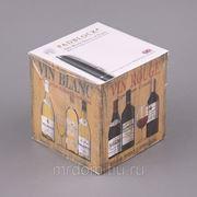 """Блок листов для записей """"французское вино"""" 9*9 см.800 листов (850434) фото"""