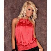 Блуза красная фото