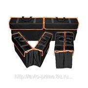 A15-1715 Органайзер двойная сумка оранжевая фото