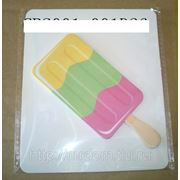 Стикеры мороженное 4 вид. рожок зелен. (828983) фото