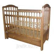 Кровать детская «Ивашка 10» с продольным маятником фото