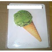 Стикеры мороженное 2 вид. эскимо откусанное (828985) фото