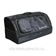 Органайзер в багажник TRAVEL, брезентовай, 70х32х30см, чёрный фото