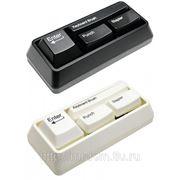Канцелярский набор в виде клавиатуры черн. (829028) фото