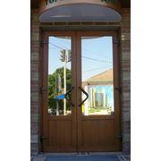 Металлопластиковые двери фото