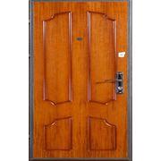 Металлическая дверь с отделкой Шпонированая панель МДФ фото
