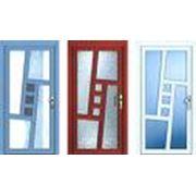 Дверь из высококачественного ПВХ-профиля фото