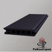 Террасная доска Террадек Эко/Terradeck Eco, Черный фото