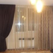 Шторы и гардины в спальню пошив под заказ, Киев фото