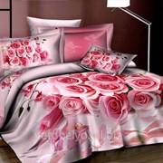 Комплект постельного белья ЕВРО- САТИН 3D А 04-6 фото