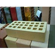 Кирпич цветной Кленовый лист фото