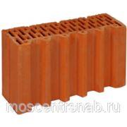 Поризованный кирпич - поризованный керамический блок (теплая керамика) ПОРОТЕРМ/POROTHERM 38 1/2 фото