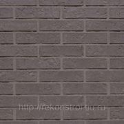 Кирпич облицовочный CRH (Голландия), Brijliant Zwart Rock фото
