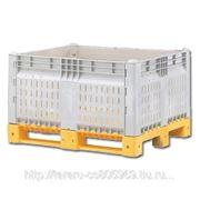 Разборные контейнеры Box pallet KitBin (перфорированный) фото
