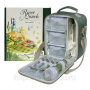 Набор для пикника river lunch в подарочной упаковке, camping world (698428)
