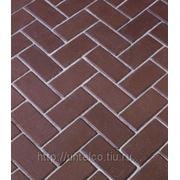 Тротуарная клинкерная брусчатка Penter rot фото