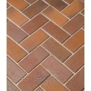 Тротуарная клинкерная брусчатка Florenz bunt фото