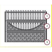 Форма для заборной секции фото
