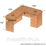 Стол компьютерный угловой СКУ.002