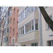 Наружная обшивка балконов фото