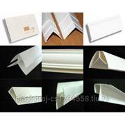 Комплектующие для панелей ПВХ (глянец) и углы фото