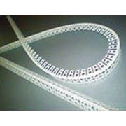 Уголок перфорированный арочный ПВХ фото