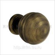 Комплект поворотных дверных ручек-кноб CAPRI (КАПРИ). АРТ Р4 А70.21 фото