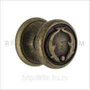 Комплект (пара) дверных ручек-кноб (на стяжном винте) DOLFNIN (ДЕЛЬФИН). АРТ BE/1430.INV фото