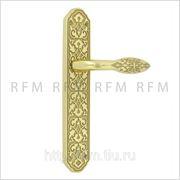 Дверная ручка на планке YASMEEN (ЖАСМИН) для замка защелки. Арт. YAS.PLC.OLV фото