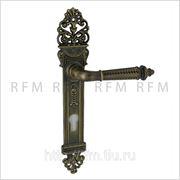 Дверная ручка на планке SILVIA (СИЛЬВИЯ) для замка с английским ключом. Арт.OB113-03A8Y851085.07 CYL фото