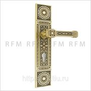 Дверная ручка на планке CELLINI (ЧЕЛЛИНИ) для замка с английским ключом. Арт. IA08-03 AB CELLINI CYL фото
