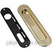 Ручка 150мм для раздвижных дверей. Цвет золото фото