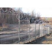 Заборные секции фото