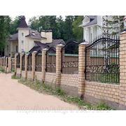 Кованные и сварные заборы, ворота, калитки фото