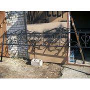 Оградки металлические и кованые фото