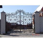 Ворота кованые и сварные фото