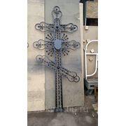 Кованный крест 008 фото