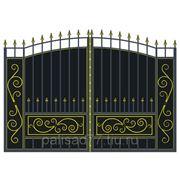 Ворота арочные фото