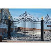 Ворота и ограда Президентского дворца в Казанском Кремле фото