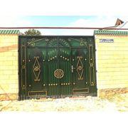 Кованые ворота B010