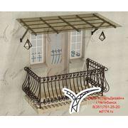 Производим кованые балконы фото