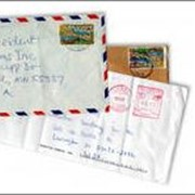 Доставка писем, корреспонденции фото