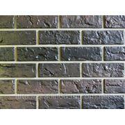 Фасадные панели NAILITE КИРПИЧ (США )CHAR BROWN фото