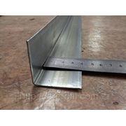 Крепежный профиль Г-образный (КПГ-40х40х3000 Цинк 0,9мм) фото